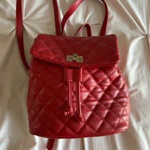 Accessories - Red small backpack